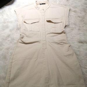 Safari style dress